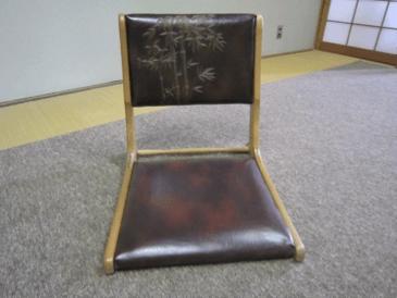 和室1に座椅子を設置しました